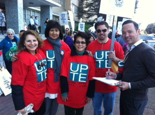 2013-01-31 Pension Action - SFGH & Mt Zion Members at Rally